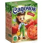 Сок Садочок томатный с солью 0,2л
