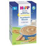 Каша HiPP Спокойной ночи молочная органическая с печеньем для детей с 6 месяцев 250г