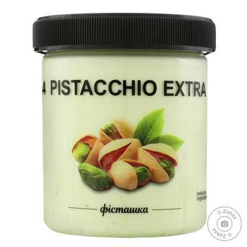 Морозиво La Gelateria Italiana Фісташка №4 330г - купити, ціни на Фуршет - фото 1