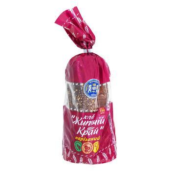 Хлеб Кулиничи Ржаной Край нарезанный 350г - купить, цены на МегаМаркет - фото 1