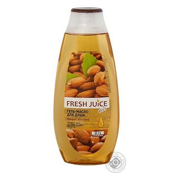 Gel Fresh juice with almonds for shower 400ml