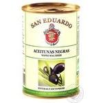 Оливки San Eduardo с косточкой 425г