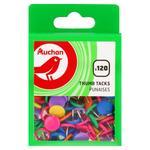 Кнопки Auchan цветные 120шт