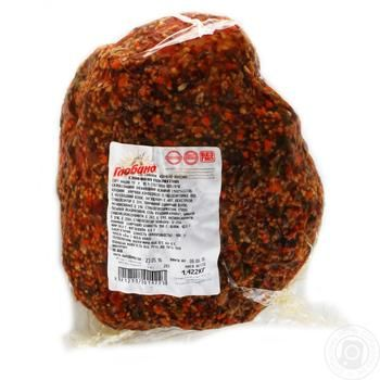 Globino Piquant Smoked-Boiled Pork - buy, prices for Auchan - image 1