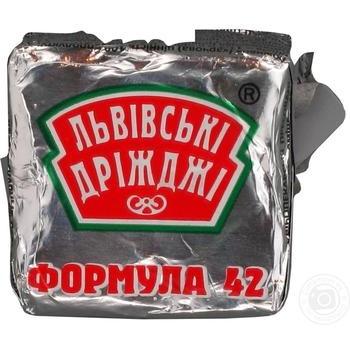 Дріжджі Львівські Дріжджі пресовані 42г - купити, ціни на Novus - фото 2