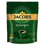 Кава Jacobs Monarch розчинна в економічній упаковці 130г