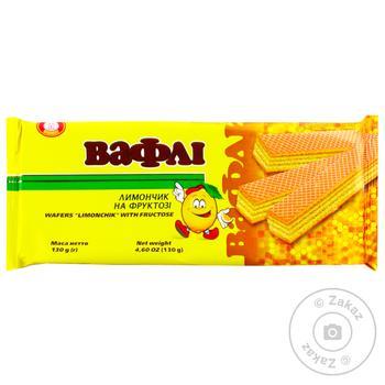 Вафли Бисквит-Шоколад Лимончик на фруктозе 130г