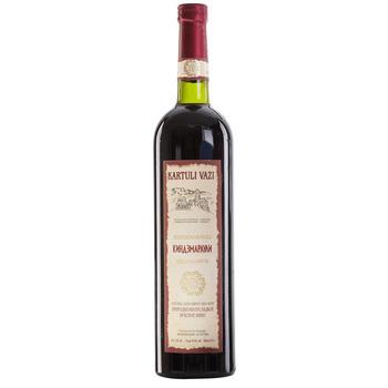 Вино Kartuli Vazi Кіндзмараулі червоне напівсолодке 11% 0,75л