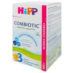 Дитяча суха молочна суміш HiPP Combiotiс №3 з 10 місяців 900г