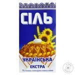 Slovianska Extra Kitchen Boiled Salt 1kg - buy, prices for Novus - image 1