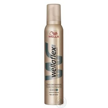 Wellaflex Mousse for hair Volume and Recovery super-strong fixation 200ml