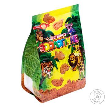 Печенье Бисквит Шоколад Зоологическое 180г