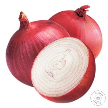Лук салатный красный кг - купить, цены на Восторг - фото 1