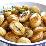 Жареный картофель в горчице, чесноке и орегано