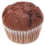 Chocolate Muffin with Baked Milk