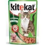 Корм для взрослых котов Kitekat с кроликом в соусе 100г