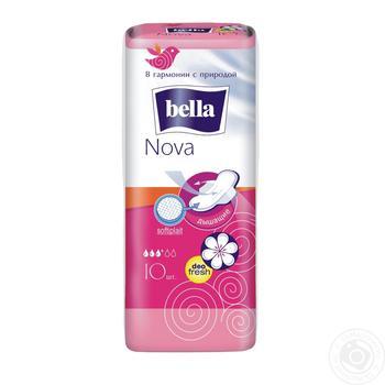 Прокладки гігієнічні Bella Nova Deo 10шт - купить, цены на Novus - фото 1