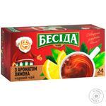 Tea Beseda lemon black packed 24pcs 41g