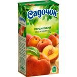 Sadochok Peach Juice with Pulp 0,5l