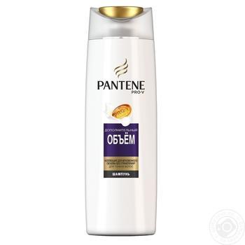 Шампунь Pantene Pro-V Дополнительный объем для тонких волос 400мл - купить, цены на Метро - фото 1