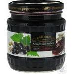 Jam blackcurrant 525g glass jar
