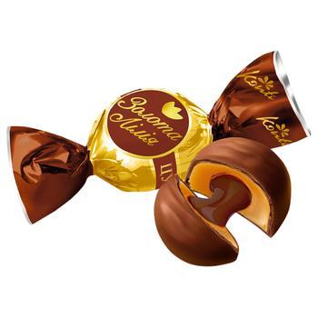 Цукерки Konti Золота лілія зі смаком шоколаду