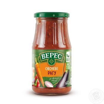 Рагу Верес овощное консервированное 520г - купить, цены на Novus - фото 1