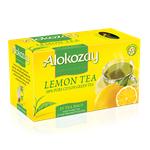 Чай Alokozay 100% натуральний цейлонський зелений Лимон пакетований 25шт 50г
