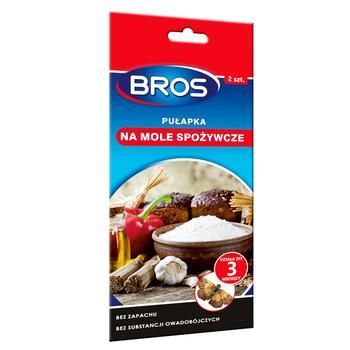 Bros Sticky Anti-Moth Tape 2pcs - buy, prices for Auchan - photo 1