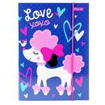 Папка д/зошитів 1Вересня В5 Love XOXO картон. 491887