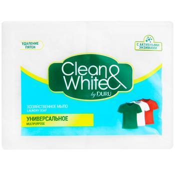 Мыло Duru Clean&White хозяйственное 2x125г