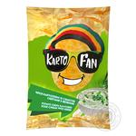 Chips Kartofan potato with taste of sour cream 70g