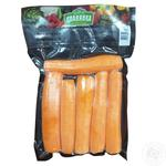 Морковь Славянка свежая очищенная мытая целая 500г