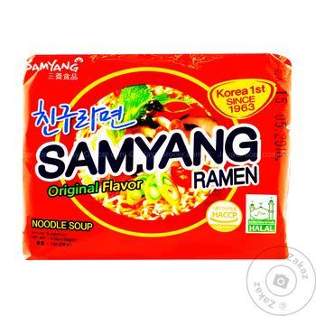 Лапша Samyang Рамен 120г - купить, цены на МегаМаркет - фото 3