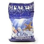 Соль морская для ванн Сrystals Health натуральная 1кг
