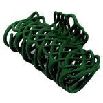 Заколка-крабик Dini Matte Style Плетений зелений для волосся d-668