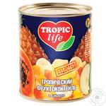 Фруктовый коктейль Tropic Life тропический в сиропе 850мл