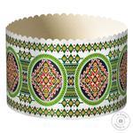 Форма Украса паперова для випічки паски 13см