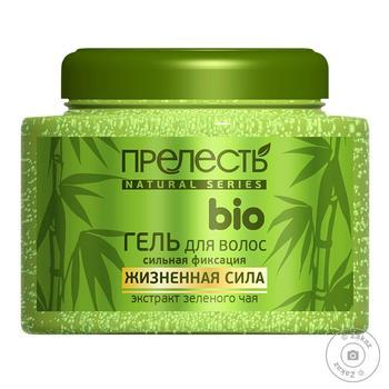 Гель для волос Прелесть Био зеленый чай 250мл - купить, цены на Восторг - фото 1