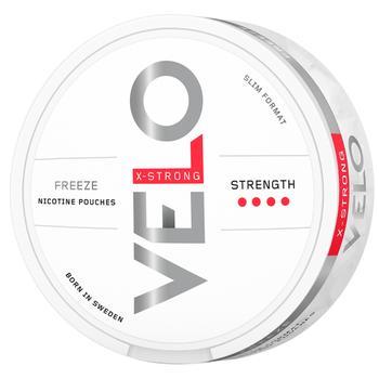 Никотиновые подушечки  Velo Freeze X-Strong