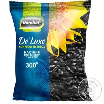 Семена подсолнечника Bondiaf De' Luxe жареные 300г - купить, цены на Таврия В - фото 1