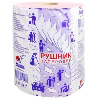 Бумажное полотенце Альбатрос на гильзе 150 отрывов - купить, цены на Varus - фото 1