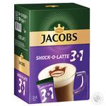 Jacobs 3в1 Shock-o-Latte instant coffee 24*12.5g