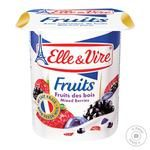 Elle&Vire With Wild Berry Milk Dessert 125g - buy, prices for MegaMarket - image 1
