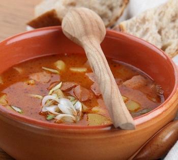 Суп с бараниной и капустой