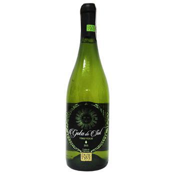 Вино Caves do Monte Gota de Sol Vinho Verde белое полусухое 10% 0.75л