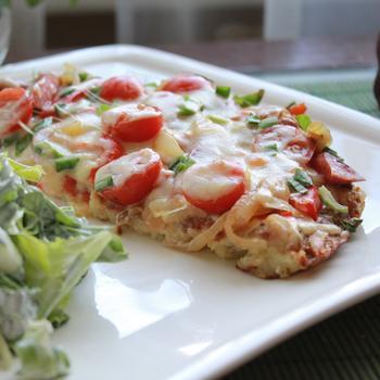 Картопляна піца на вечерю