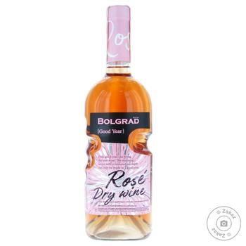 Bolgrad GY Rose Dry Wine 9.5-14% 0.75l - buy, prices for MegaMarket - image 1