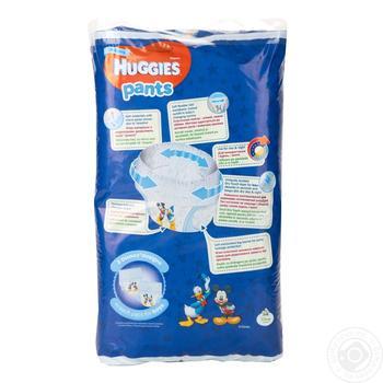 Трусики-подгузники Huggies Pants 5 для мальчиков 12-17кг 44шт - купить, цены на Ашан - фото 4