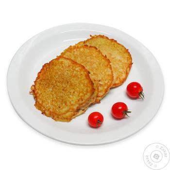 Деруны картофельные с мясом - купить, цены на МегаМаркет - фото 1